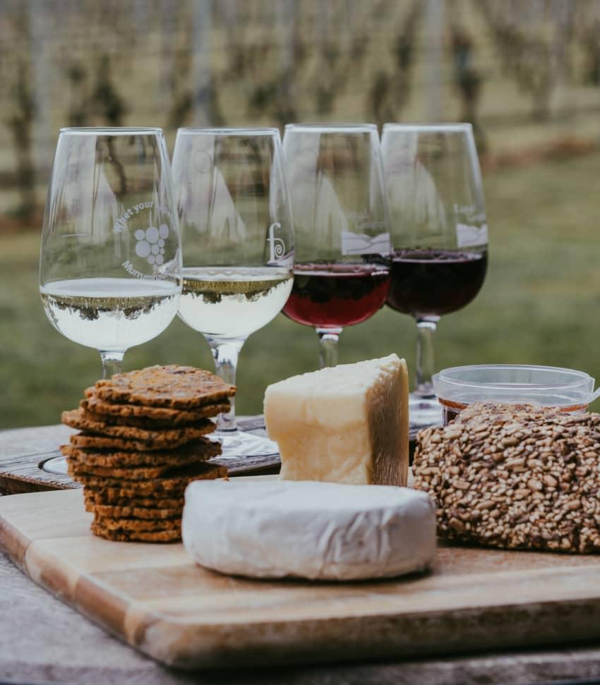 Provning av ost och vin Online