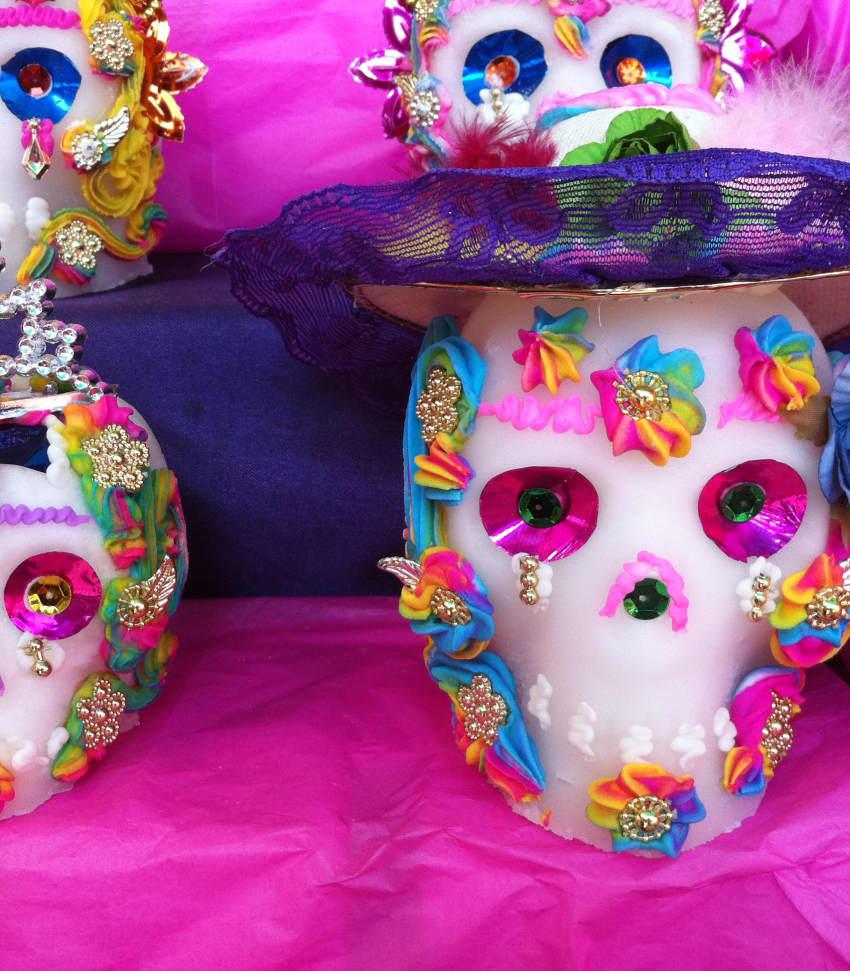 Día de Muertos - den Mexikanska alla helgons dag