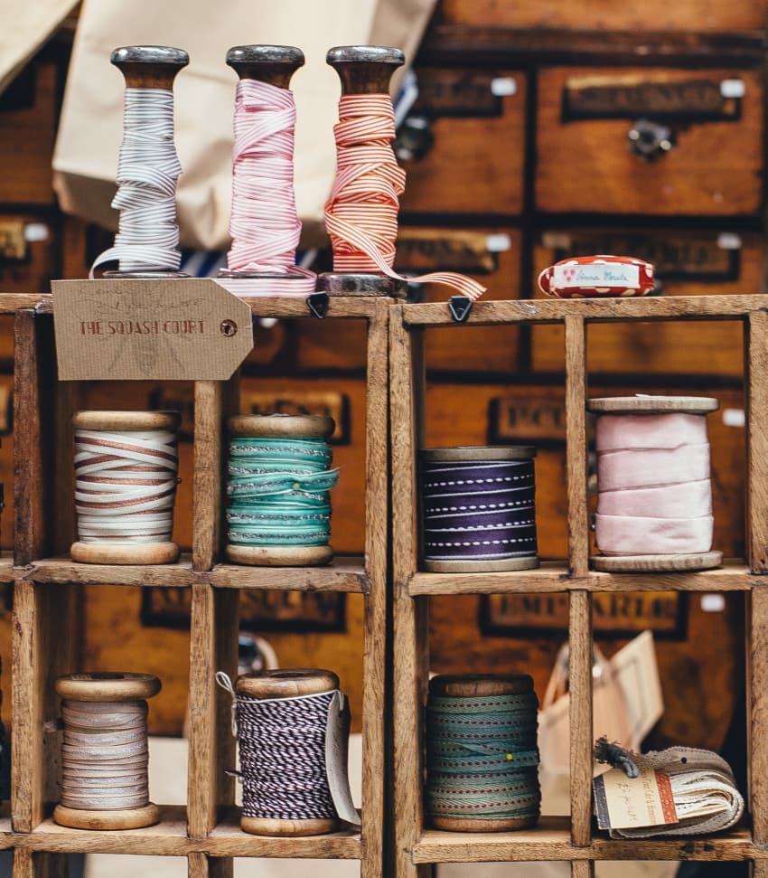 Återbruka textil på kreativt vis