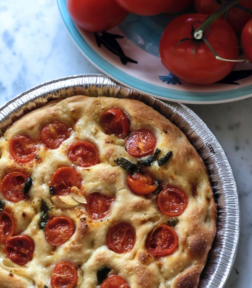 Lär dig baka italiensk pizza och focaccia