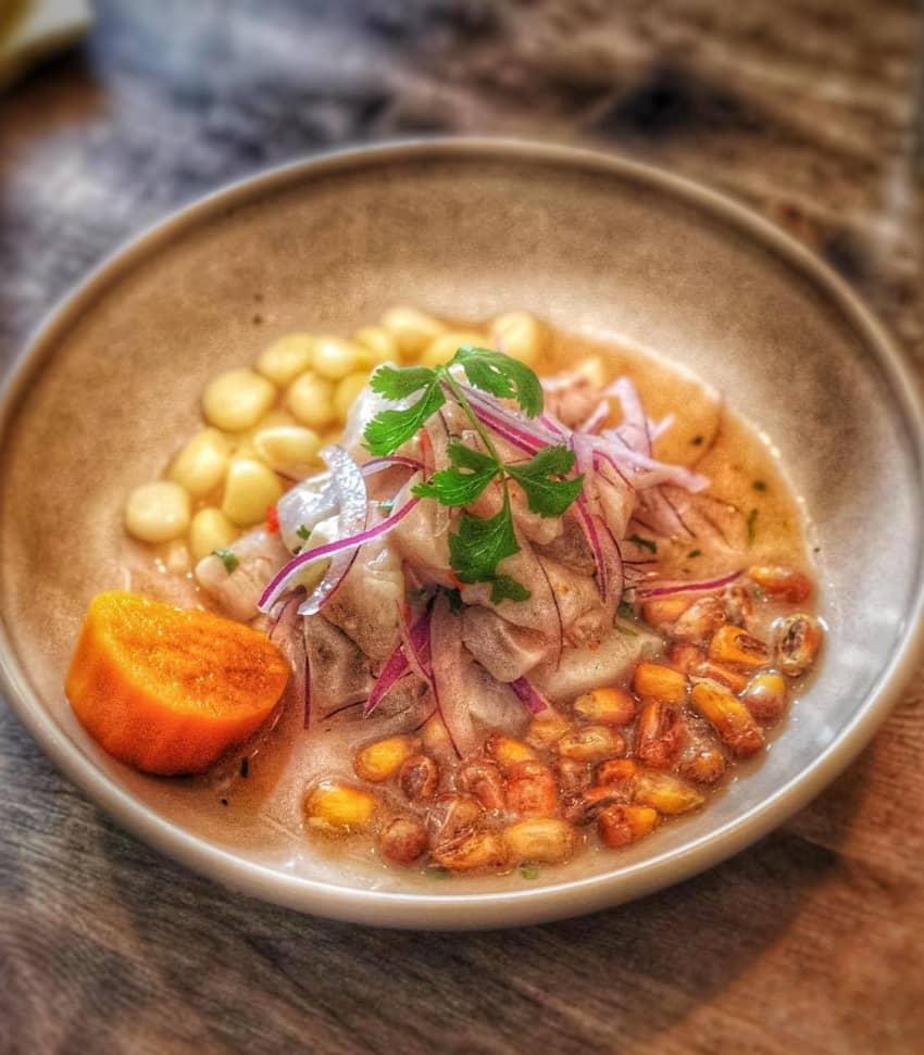 Peruansk matlagning - Ceviche
