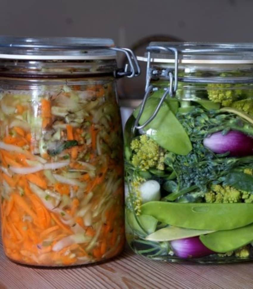 Konsten att fermentera grönsaker