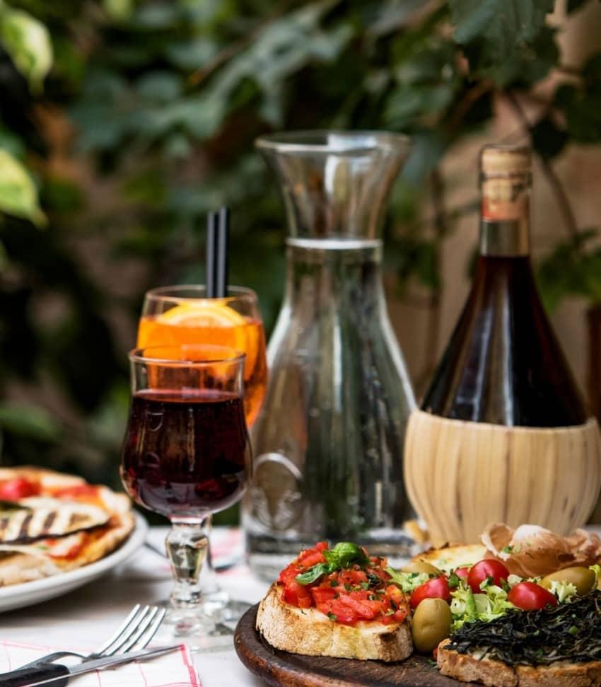 Italiensk mat på avancerad nivå