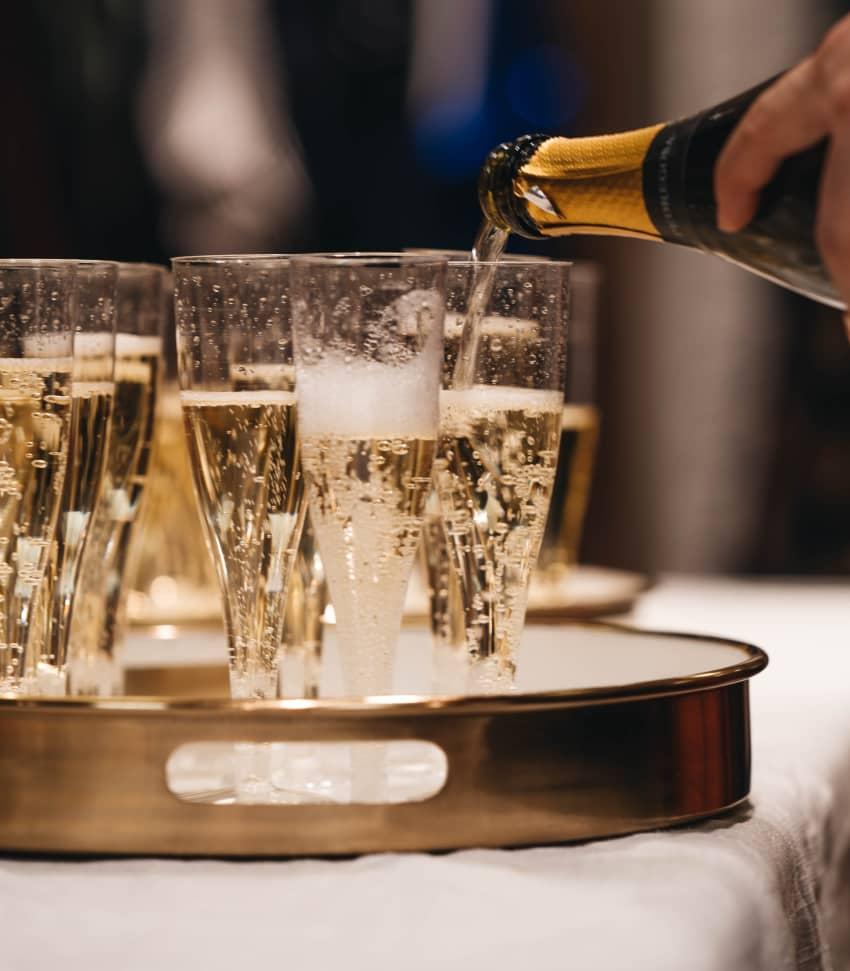 Mousserande vin - prova bubbel från hela världen