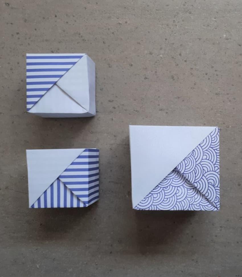 Lär dig vika origami