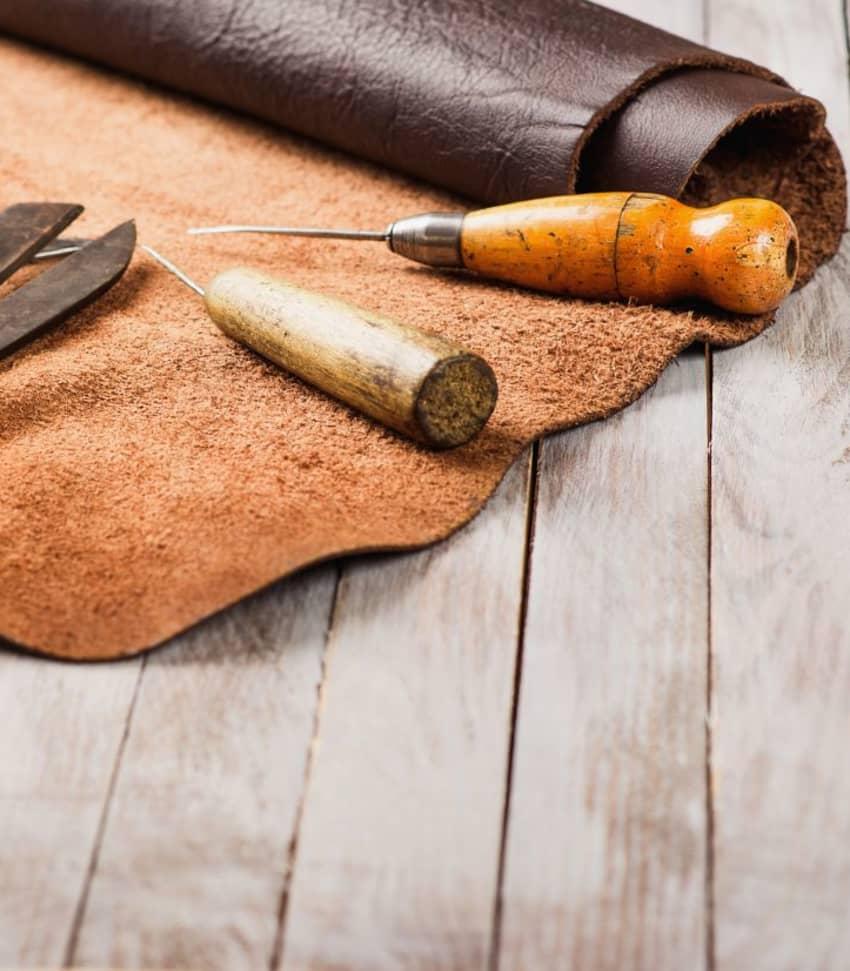 Lär dig arbeta med läder
