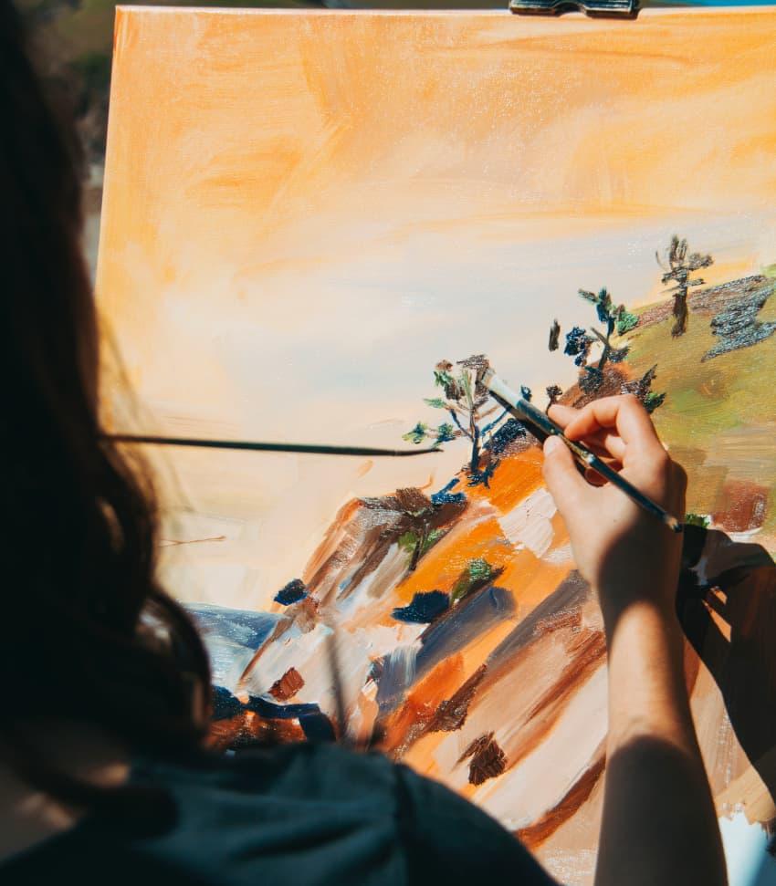 Skapa ett konstverk tillsammans