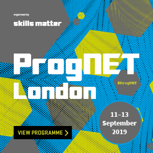 ProgNET London 2019 | 11th - 13th Sep 2019 | London
