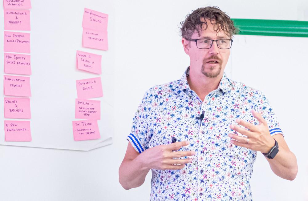Agile at Scale with Joakim Sundén