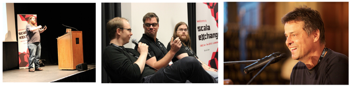 Brilliant Minds On Stage at scalaX