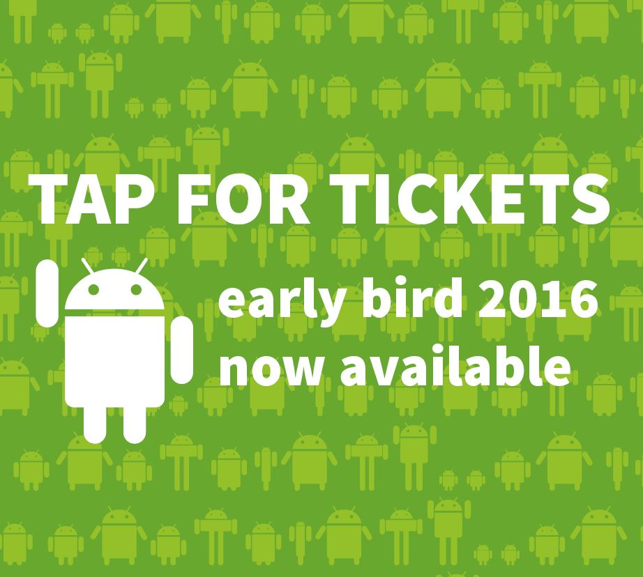 Droidcon 2015 | 29th - 30th Oct 2015 | London