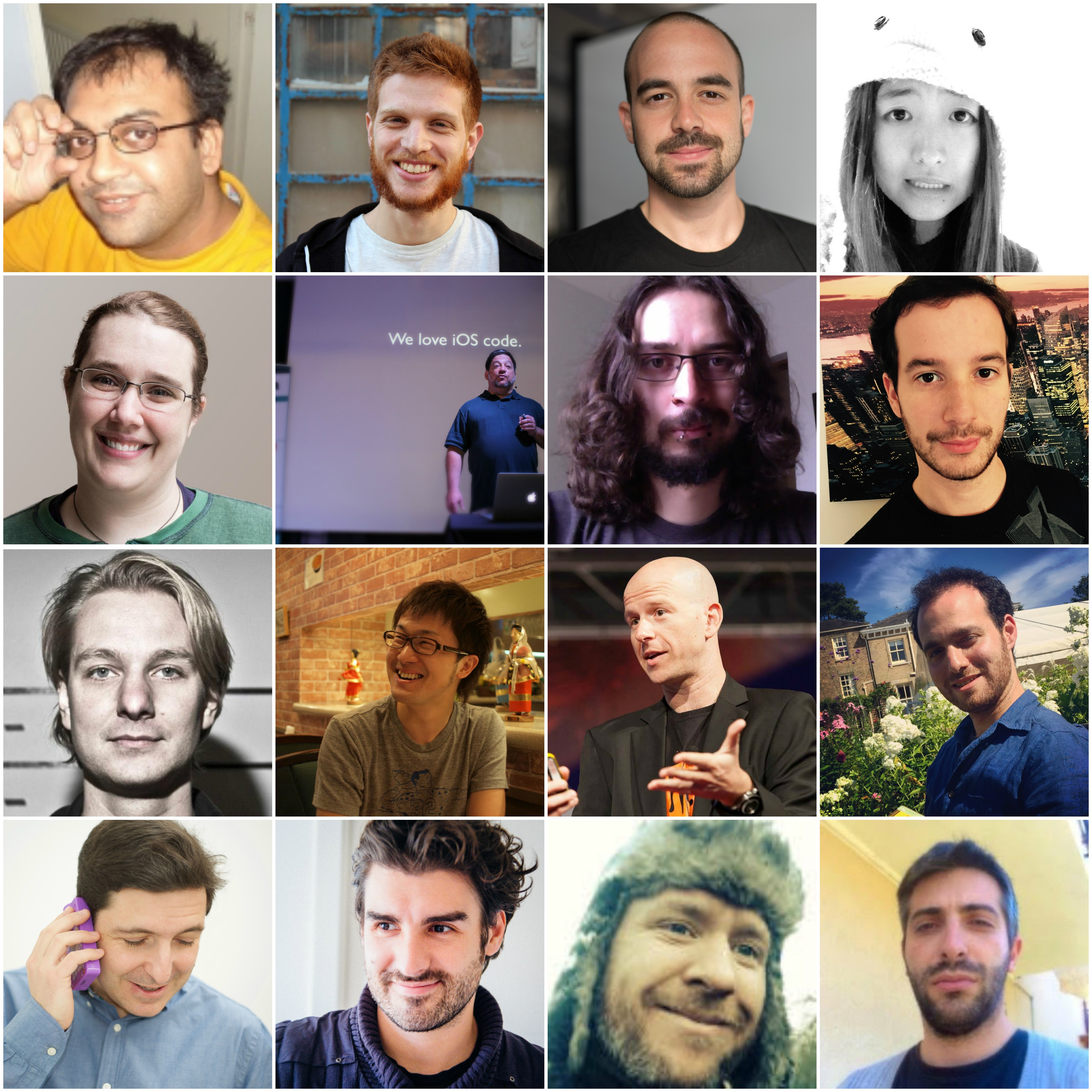 iOScon 2016 Speakers