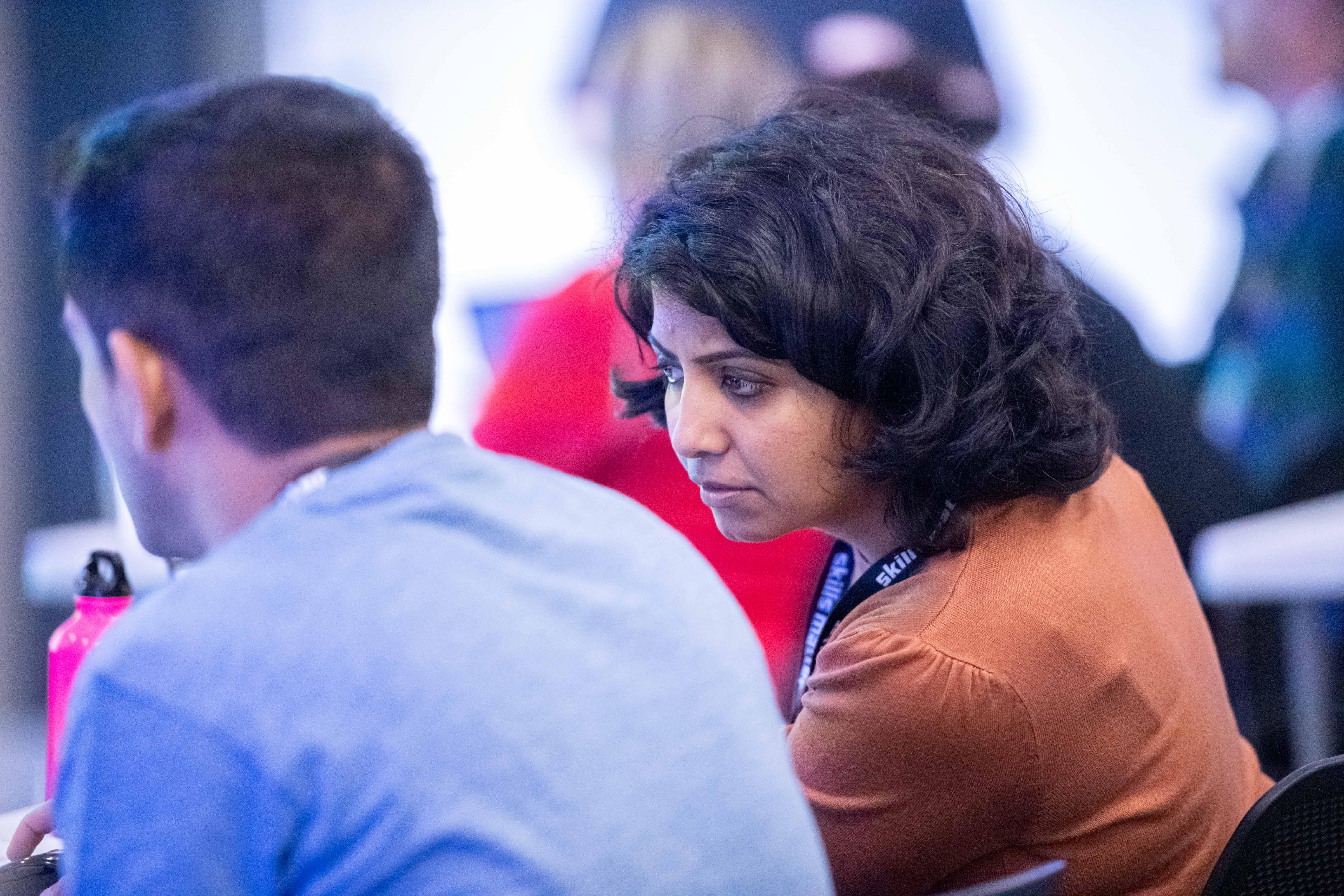 Delegates at Skills Matter Conference