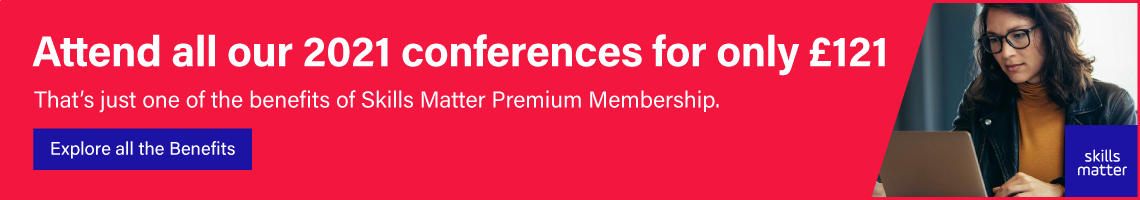 Attend a year of conferences for £121