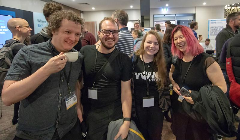 People enjoying a break at YOW! Perth 2018