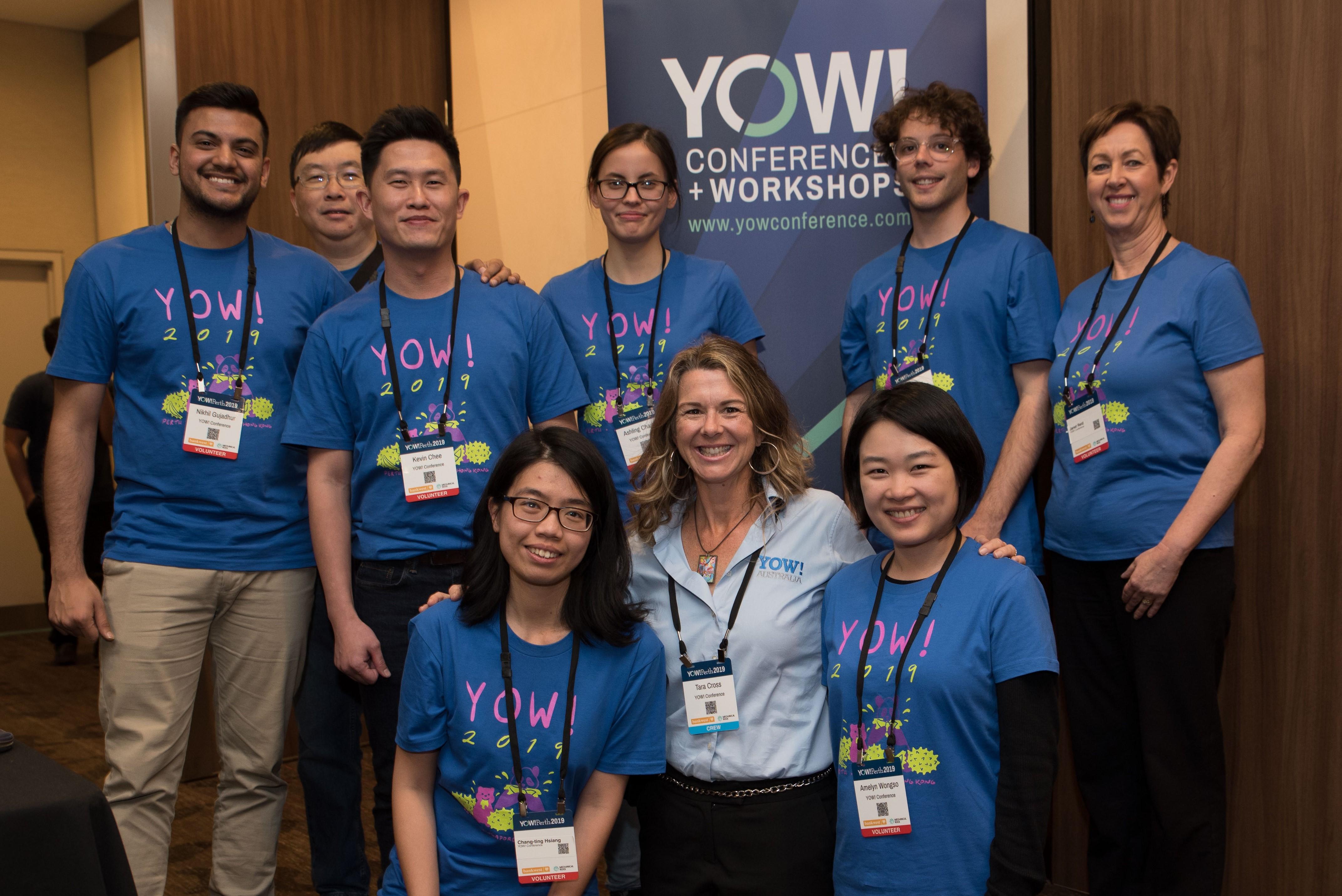 Volunteers at YOW! Perth