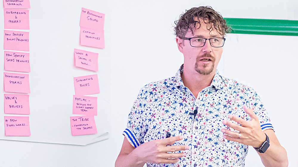 Advanced Join Joakim Sunden for this Agile at Scale Workshop
