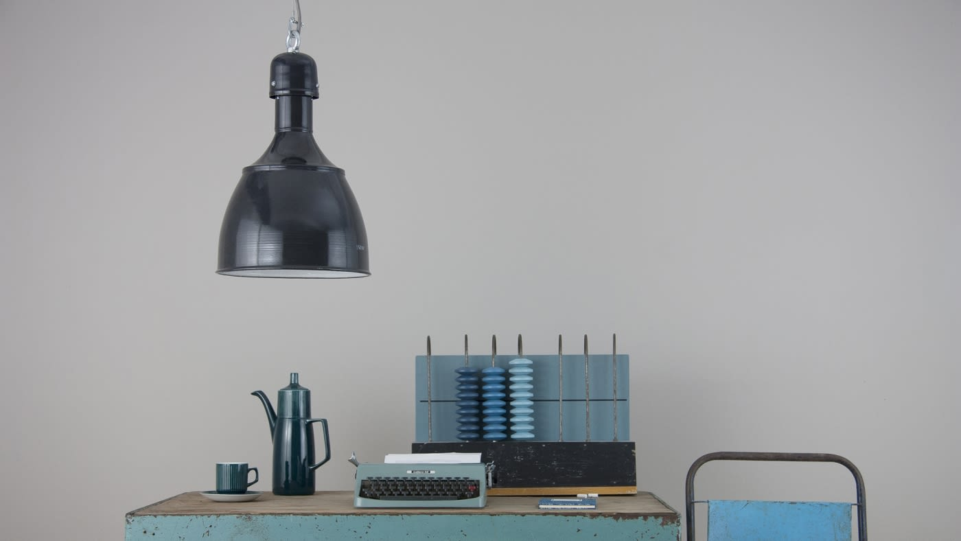 Eastern Bloc pendants and street lanterns salvaged from Poland