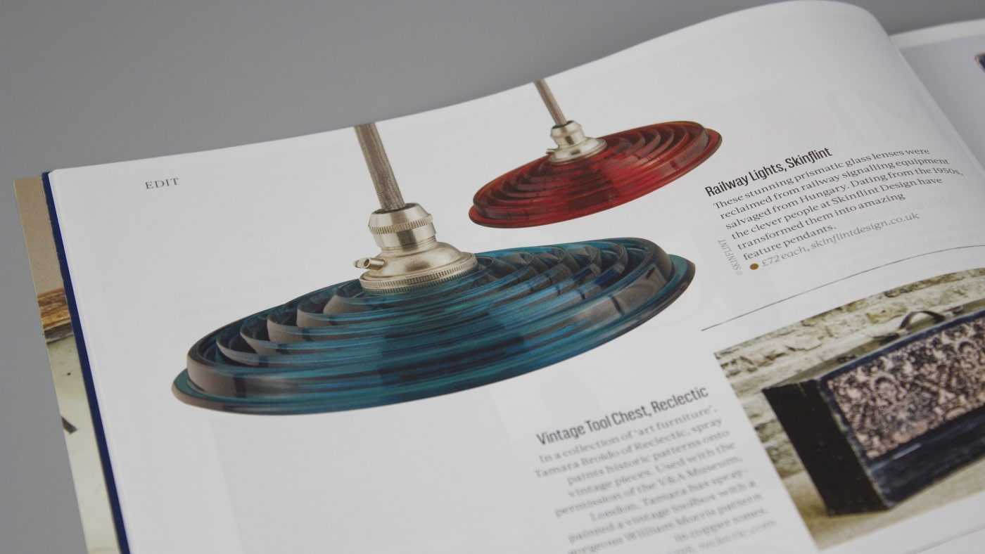skinflint railway signal pendants in Mays edition of Reclaim