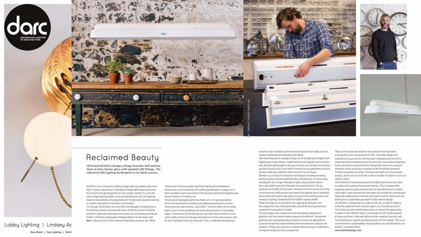 Vintage Reclaimed Beauty Article