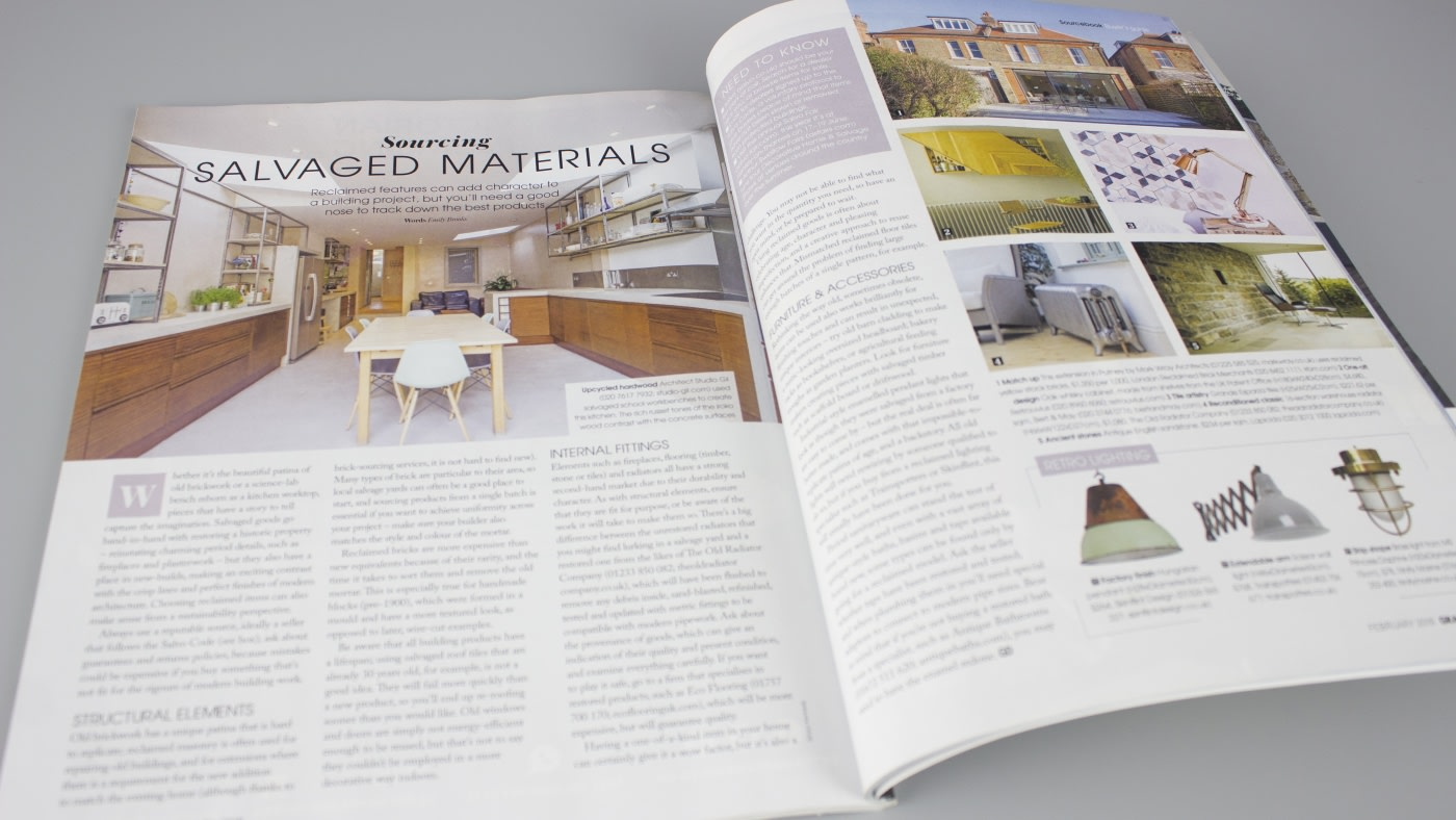 Grand Designs: skinflint's Hungarian factory shades in Reclaimed features