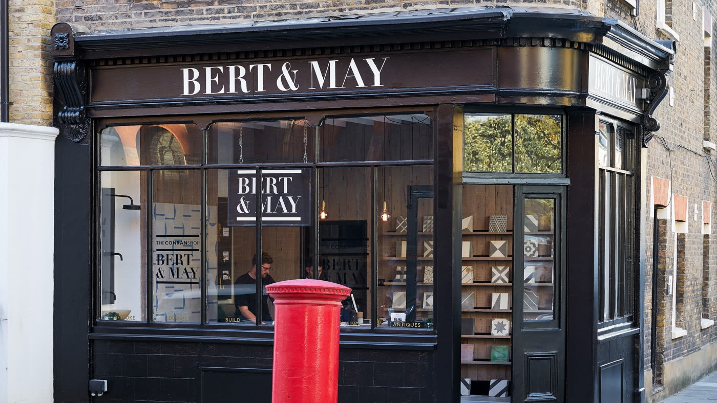 skinflint x Bert & May London pop-ups