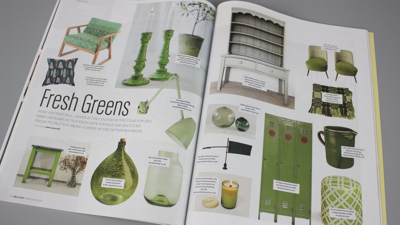 Reclaim Issue Eleven: Pure and natural, bringing the outdoors inside