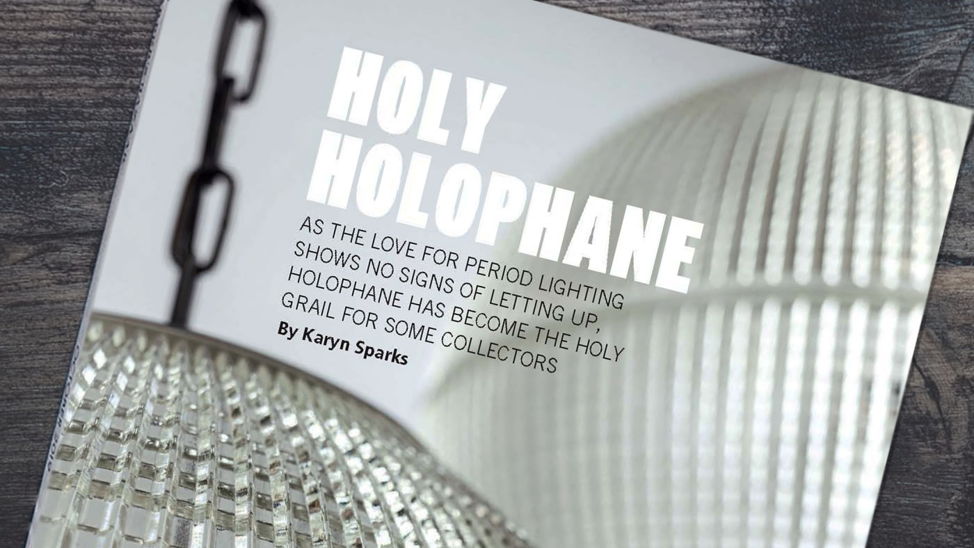 Vintage Explorer: Holy Holophane