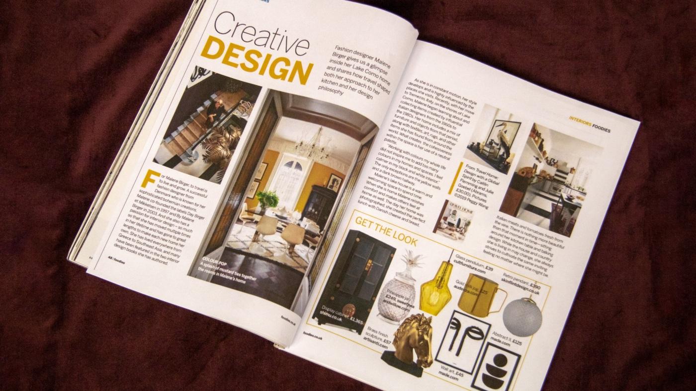 Foodies Magazine: Creative Design
