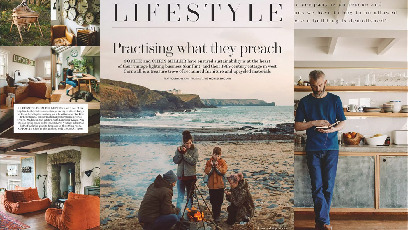 House & Garden: Lifestyle - Chris and Sophie Miller