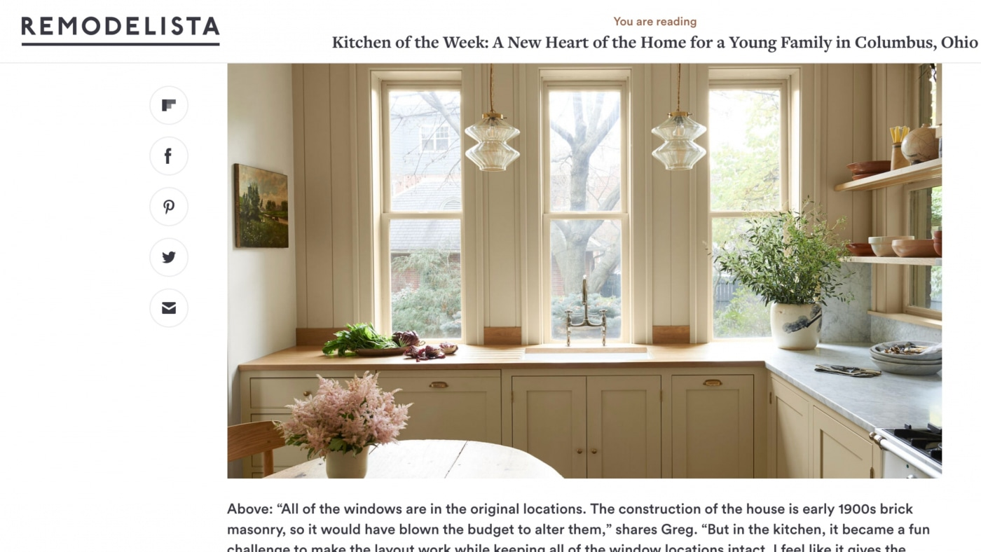 Remodelista: Kitchen of the Week