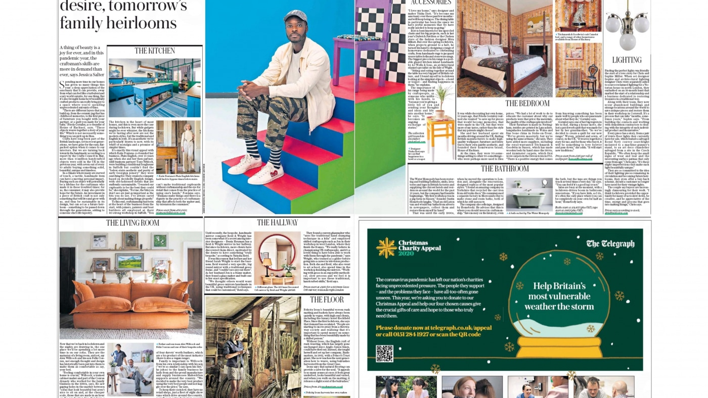 The Daily Telegraph: Today's objects of desire