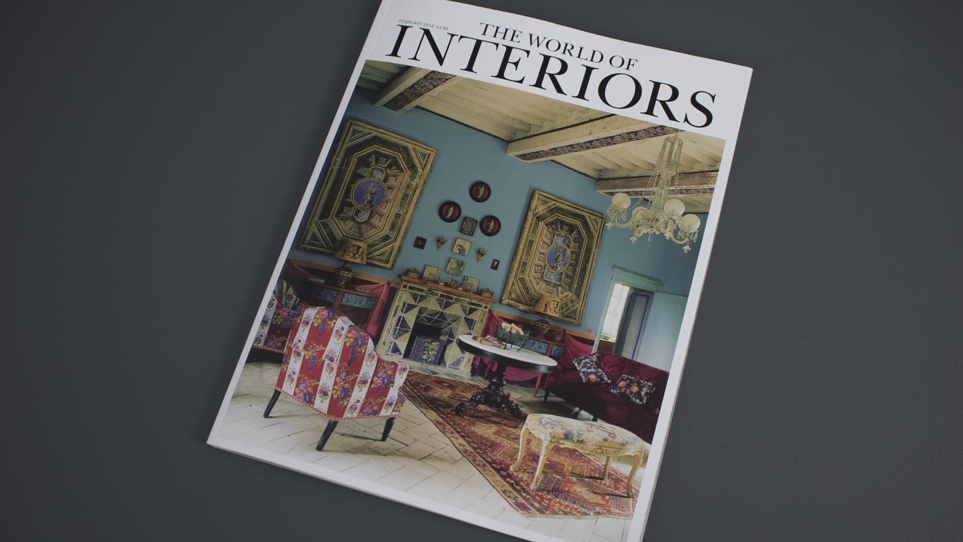 The World of Interiors: featuring skinflint's US traffic lights