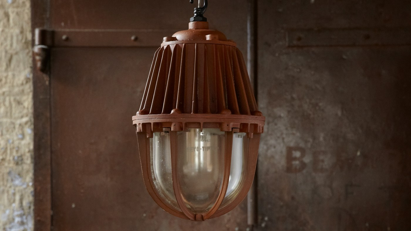 Raw industrial lighting by skinflint