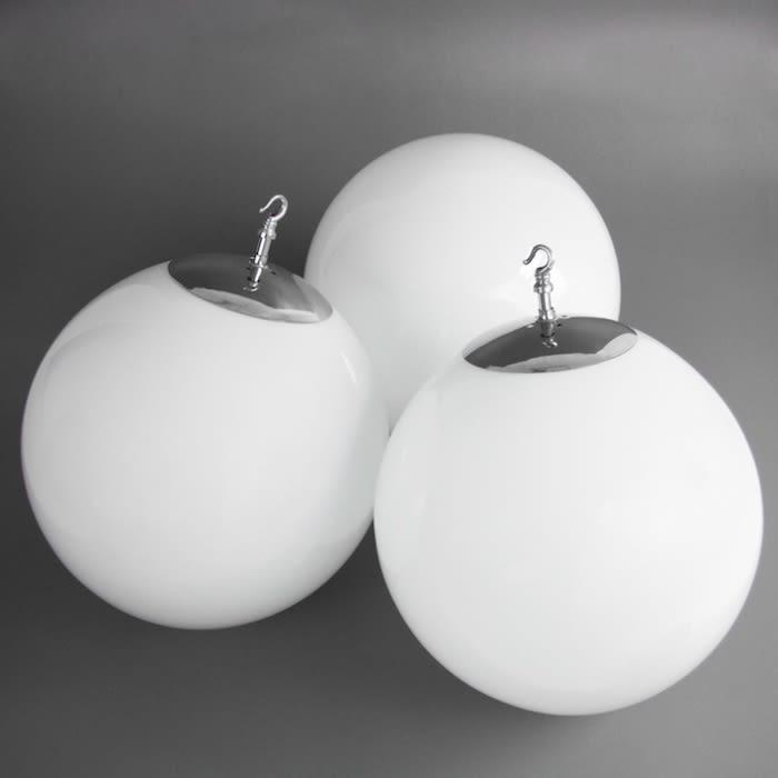 1930s Department Store Opaline Globes Xl Skinflint