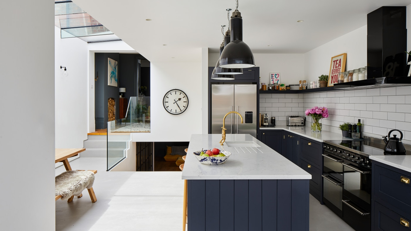 Alice's Kitchen Project - skinflint industrial lighting