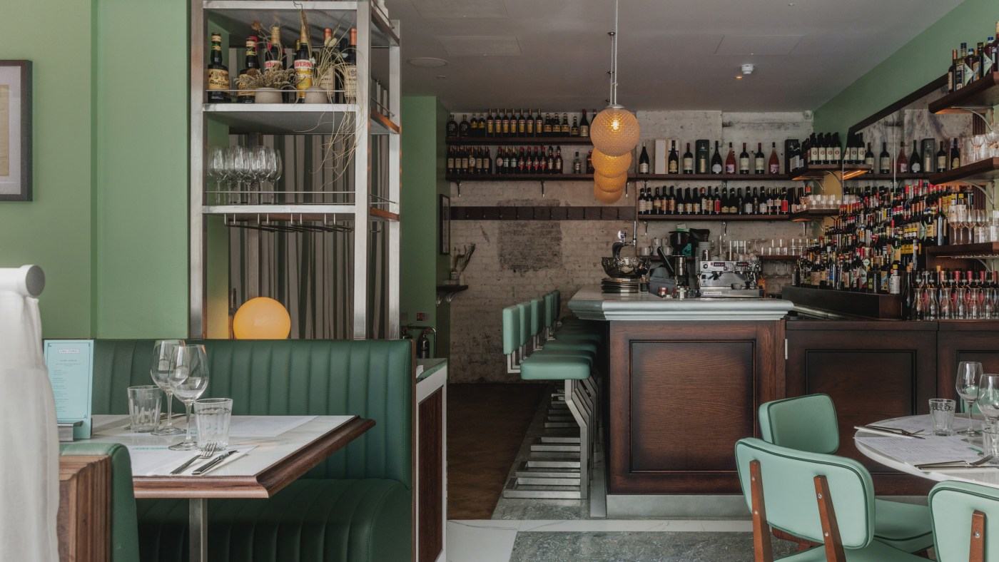 Lina Stores, King's Cross project featuring retro lights by skinflint