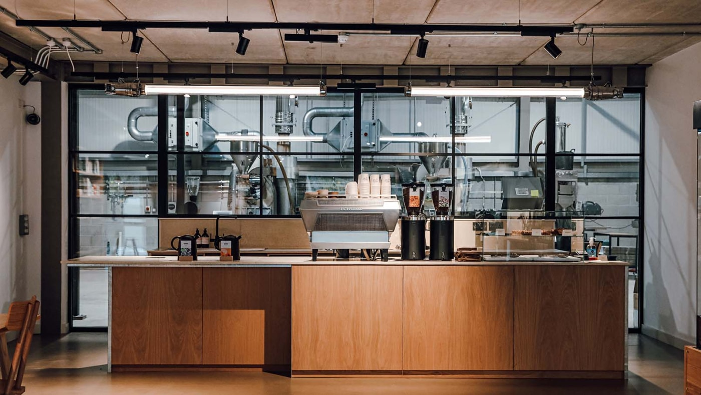Origin Coffee Roastery, Porthleven
