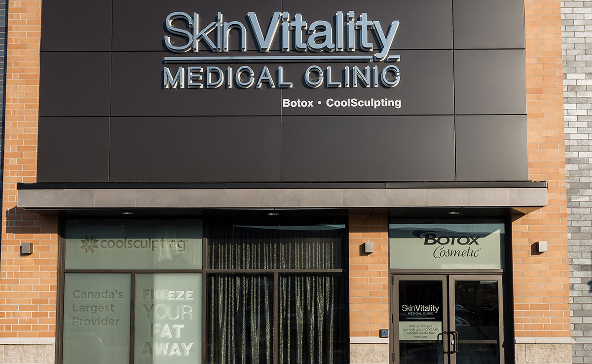 Oakville location of Skin Vitality Medical Clinic