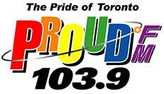 proudfm 103.9 radio station logo
