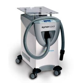 synercool device for laser and IPL treatments