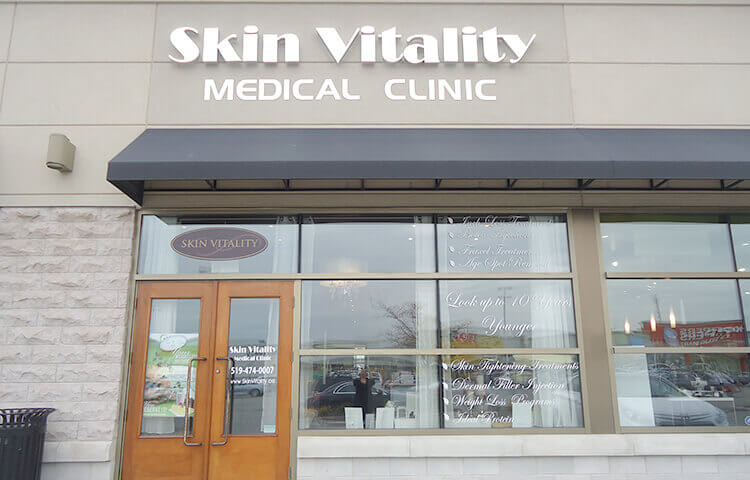 skin vitality medical clinic london location storefront