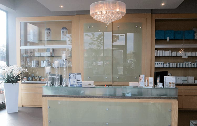 skin vitality front desk in ajax