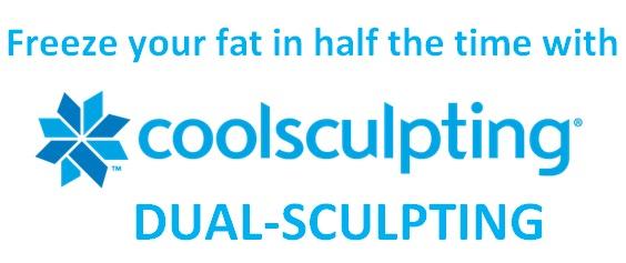 DualSculpting CoolSculpting technology.