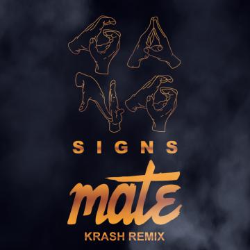 Gang Signs - Mate (Krash remix) Artwork