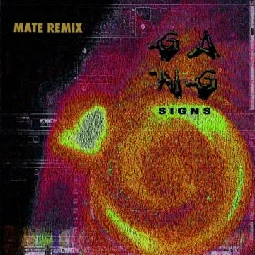Gang Signs - Mate (The Vortex Spaceship Ride remix) Artwork