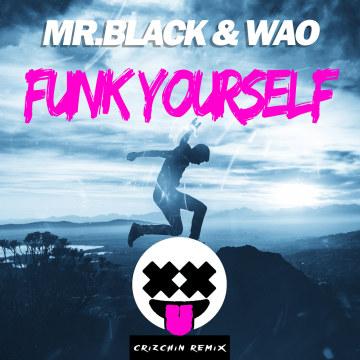 Mr. Black & WAO - Funk Yourself (Crizchin remix) Artwork