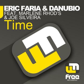 Eric Faria & Danubio - Time ft. Marlene Rhod's & Joe Silveira Artwork