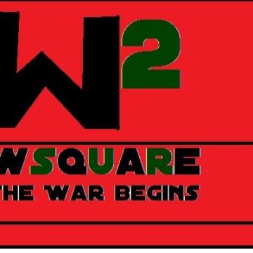WSQUARE - THE WAR BEGINS Artwork