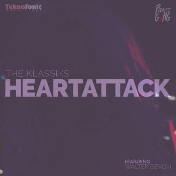 The Klassiks - Heartattack ft. Walter Devon Artwork